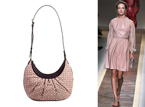 Женская сумка из ткани от Louis Vuitton