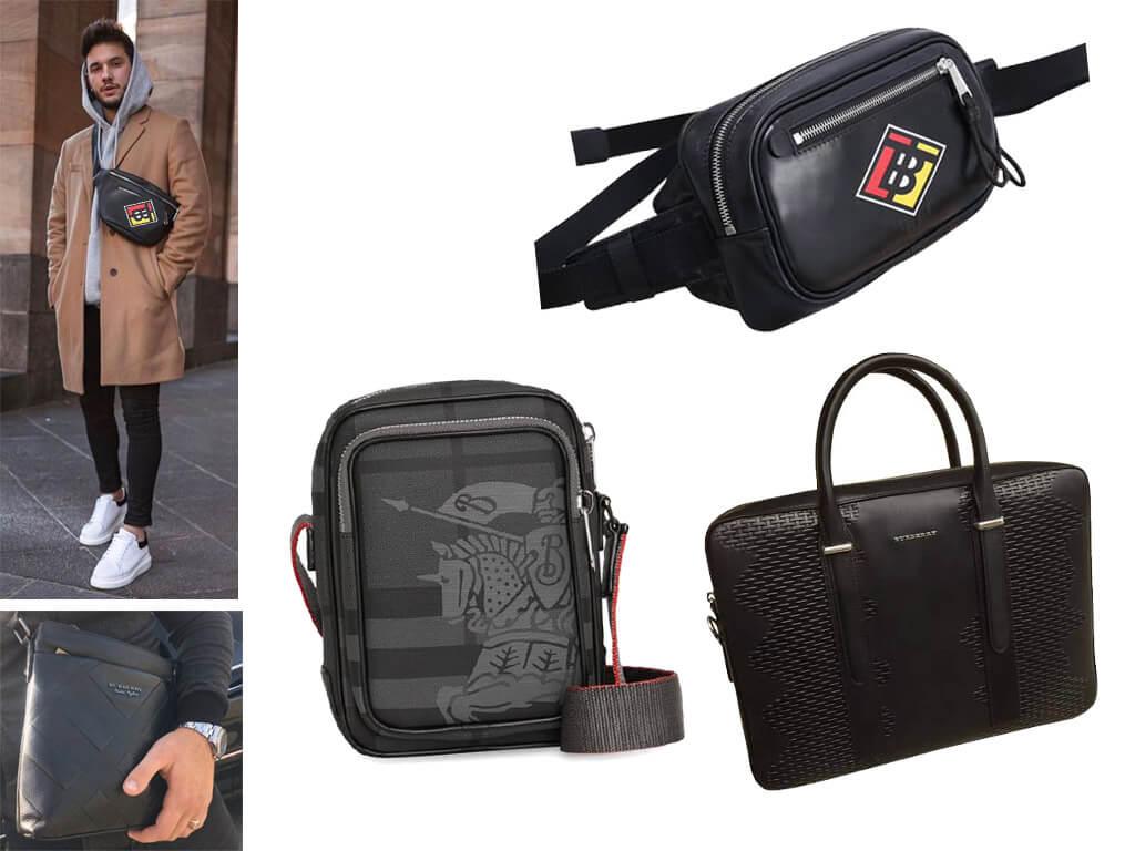 Кожаные сумки Барберри