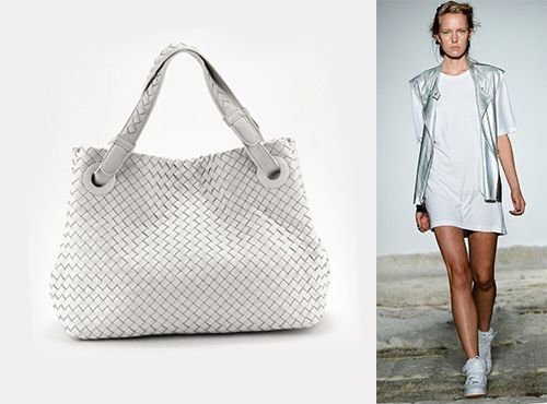 Женская сумка из кожи Bottega Veneta