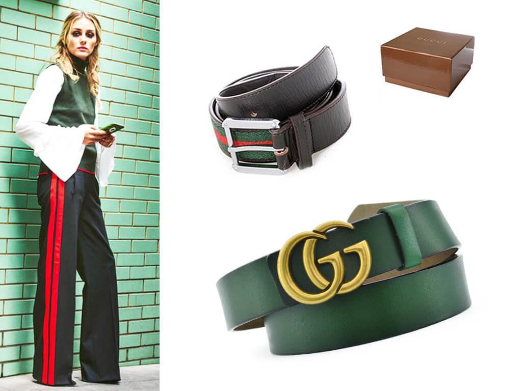 Женский зеленый ремень - способ создания яркого и стильного образа