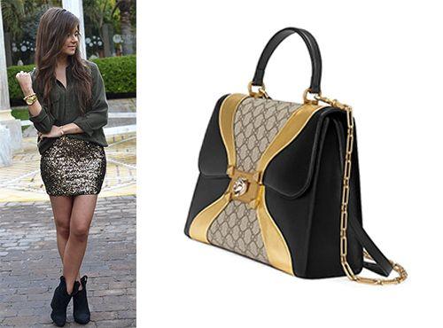 Gucci женская сумка коллекции GG Supreme