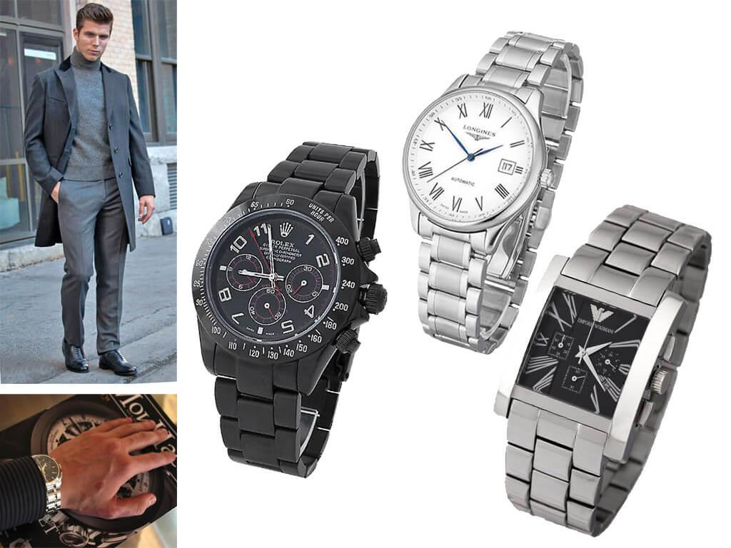 Мужские часы на браслете