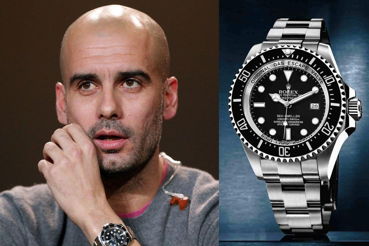 Часы Джузеппе Гвардиола Rolex