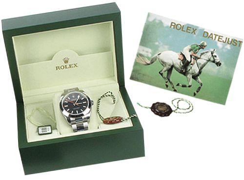 Документы для часов Rolex