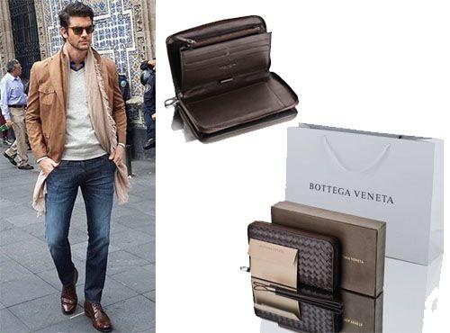 Мужской кошелек от Bottega Veneta