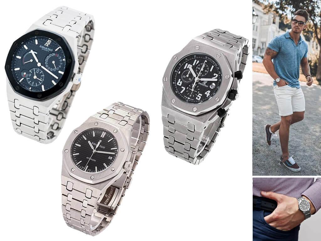 Мужские часы Audemars Piguet на браслете
