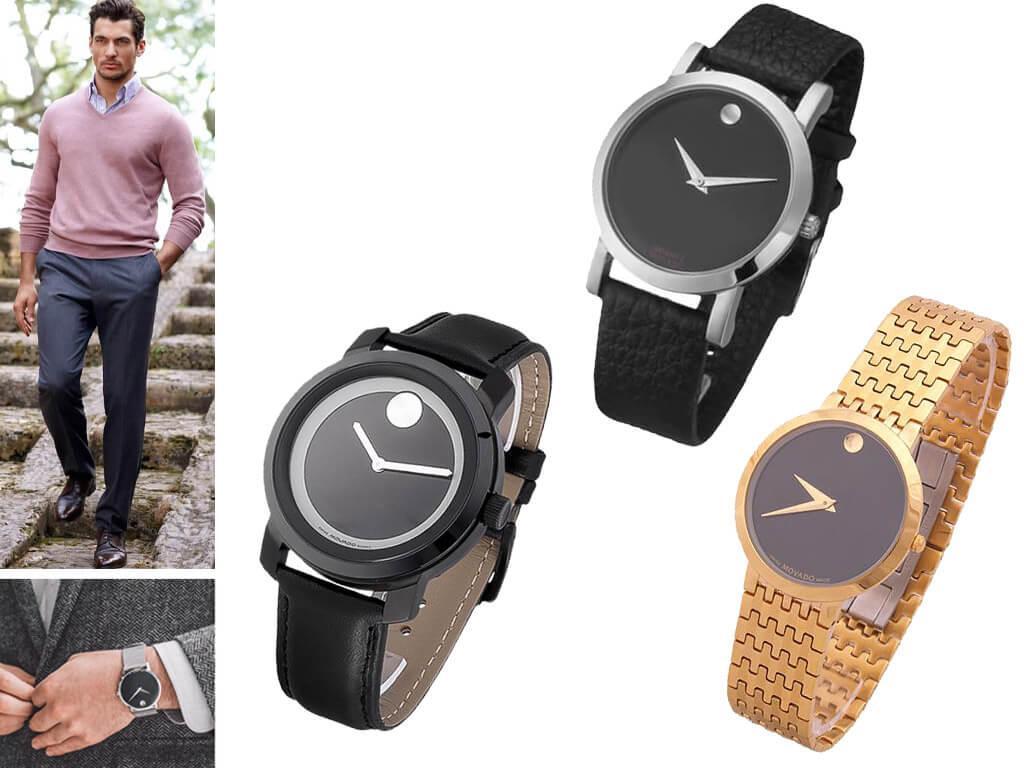 Наручные часы для мужчин Movado Classic Museum