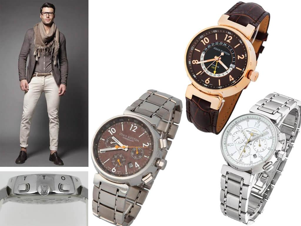 Мужские часы Louis Vuitton Tambour Essentials