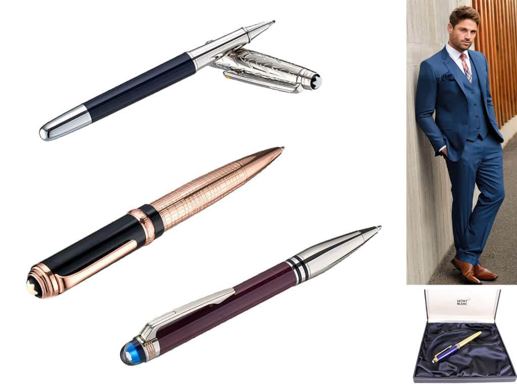 Подарочные ручки мужские в футляре