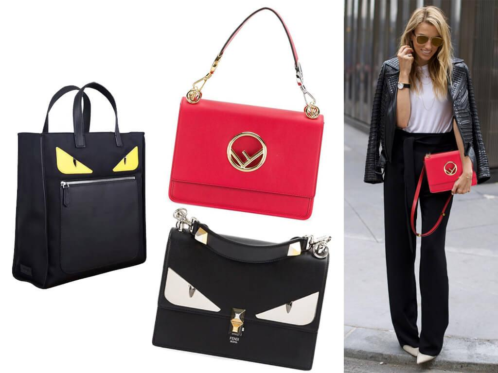 Кожаные сумки Fendi