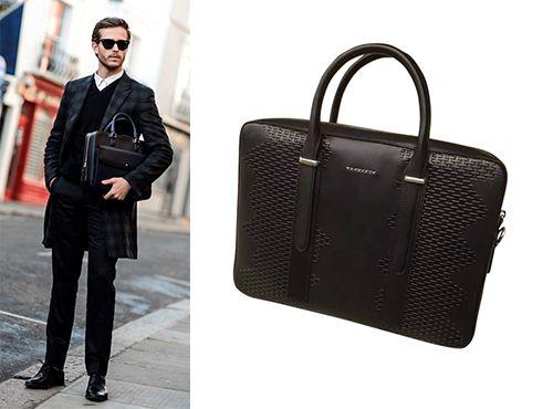 Черная сумка Burberry мужская