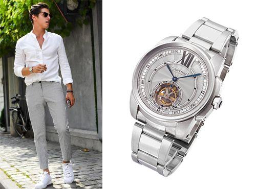 Часы от Cartier с будильником