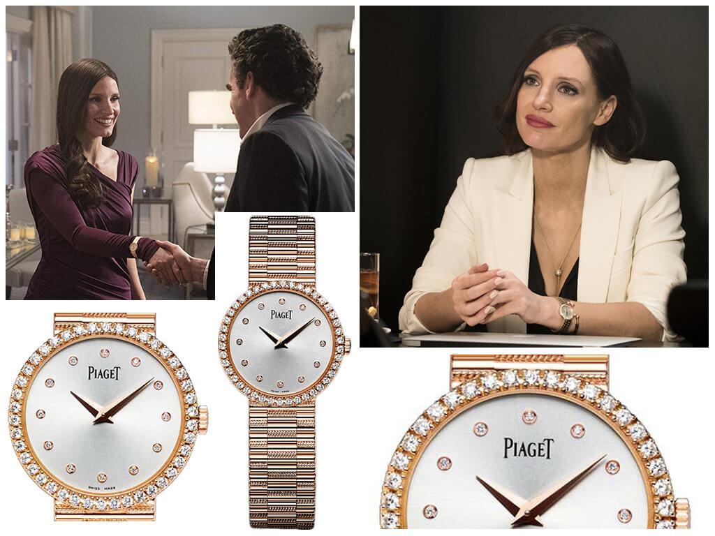 Наручные часы Молли Блум (Джессики Честейн) Piaget Tradition Watch