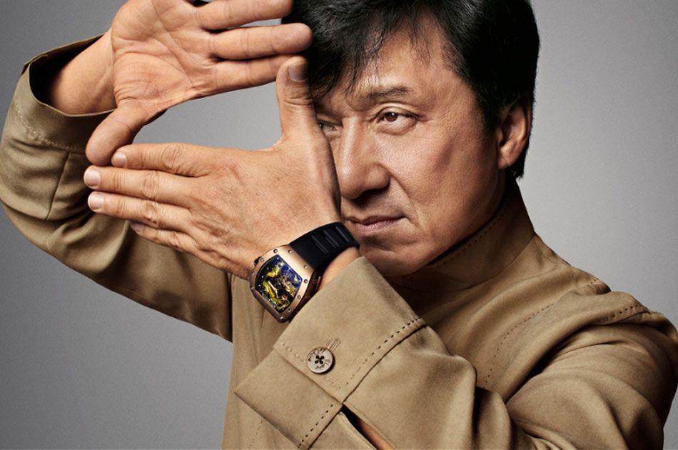 Richard Mille - часы Джеки Чана