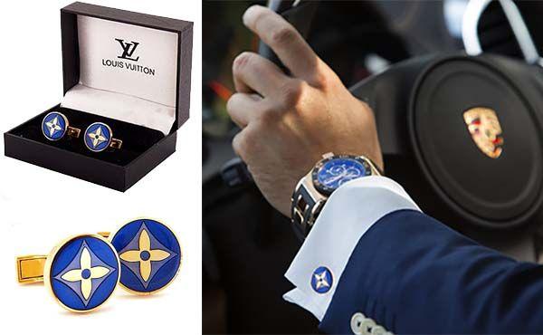 Запонки Louis Vuitton