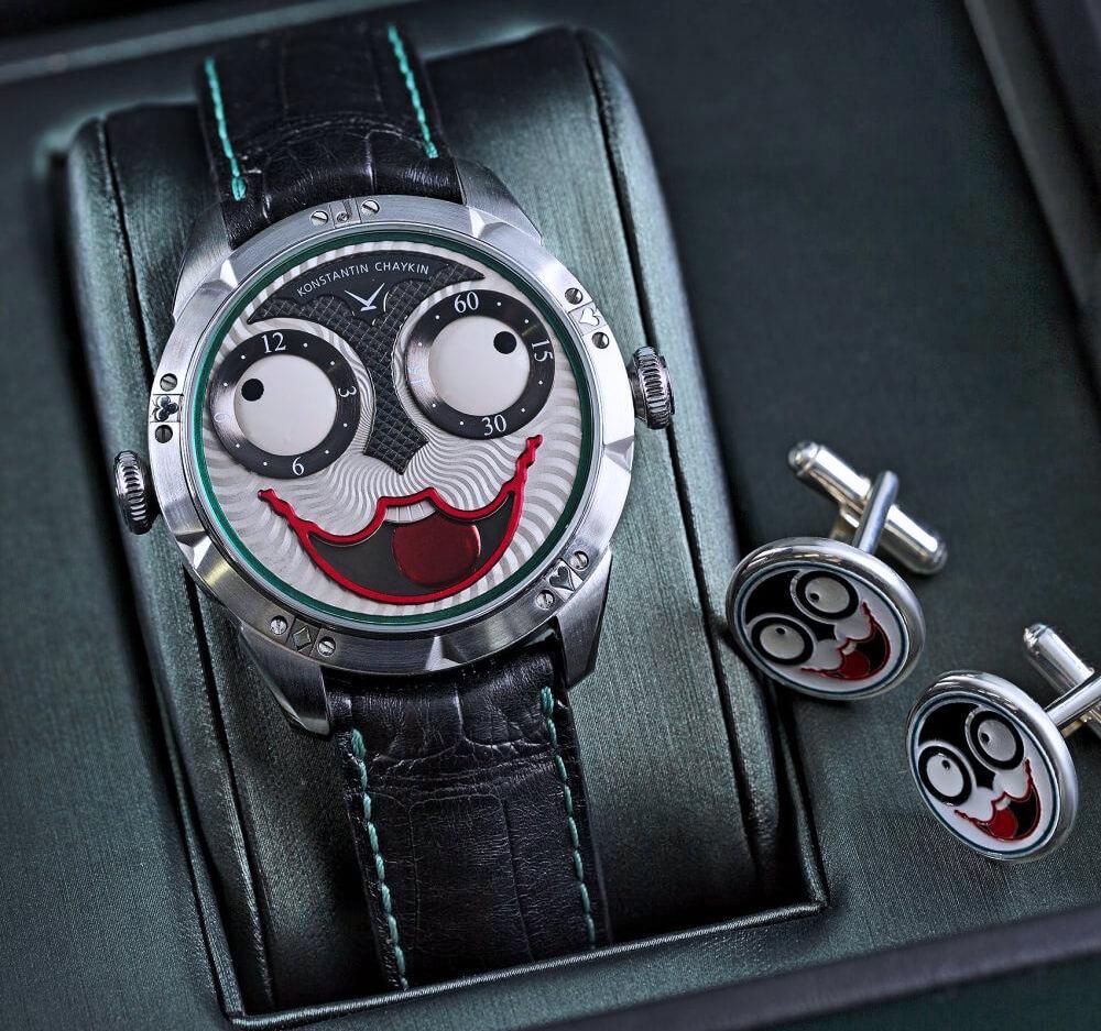 Joker - самые известные часы бренда Konstantin Chaykin