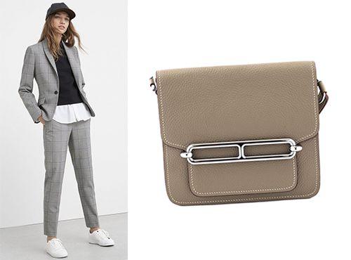 Женская сумка Эрмес Roulis