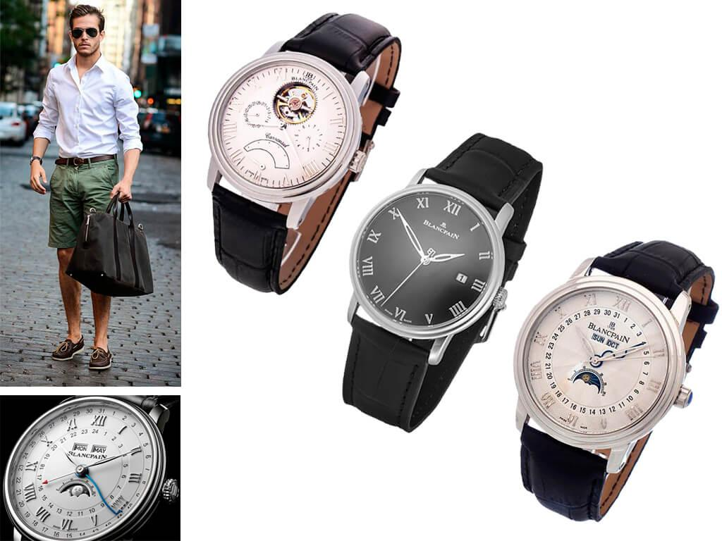 Мужские часы Blancpain Villeret