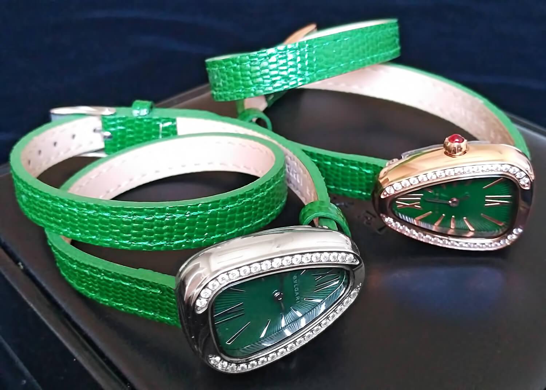 Реплики часов Bvlgari Serpenti