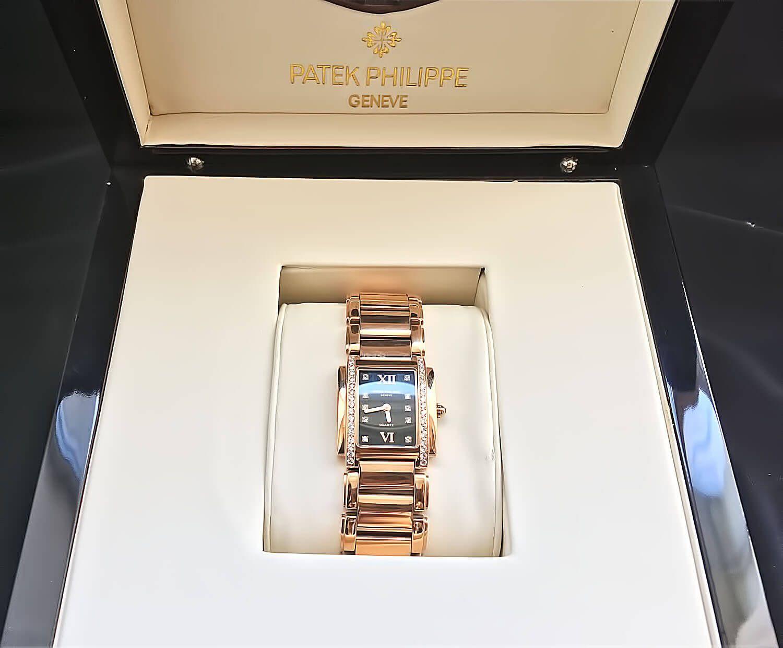 Реплика женских наручных часов Patek Philippe Twenty-4