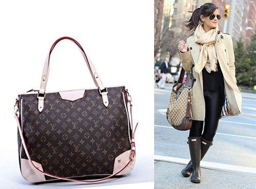 Розовая сумка Louis Vuitton женская