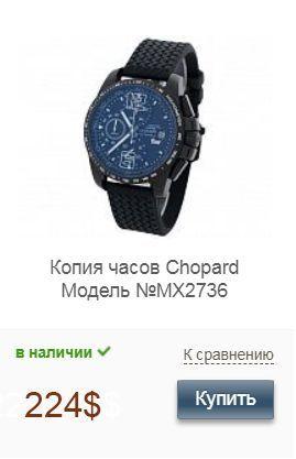 Копия часов Джузеппе Гвардиола Chopard