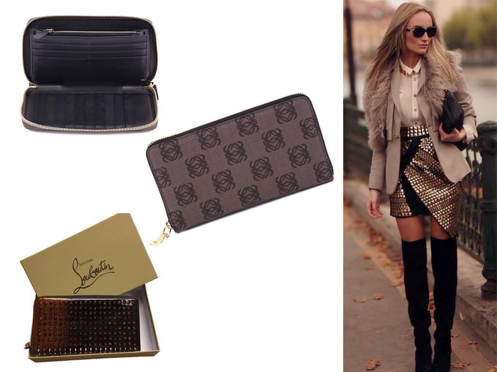 Коричневый женский кошелек - один из классических аксессуаров, востребованных всегда, вне зависимости капризов моды