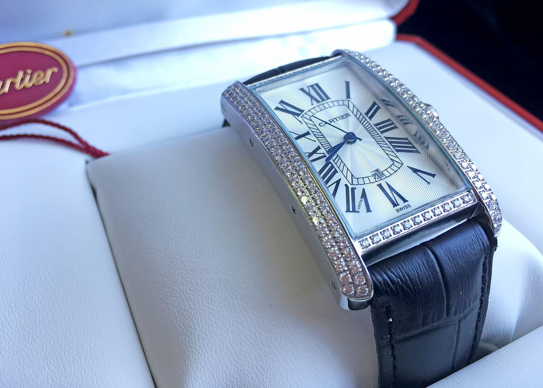 Женские часы Картье Танк