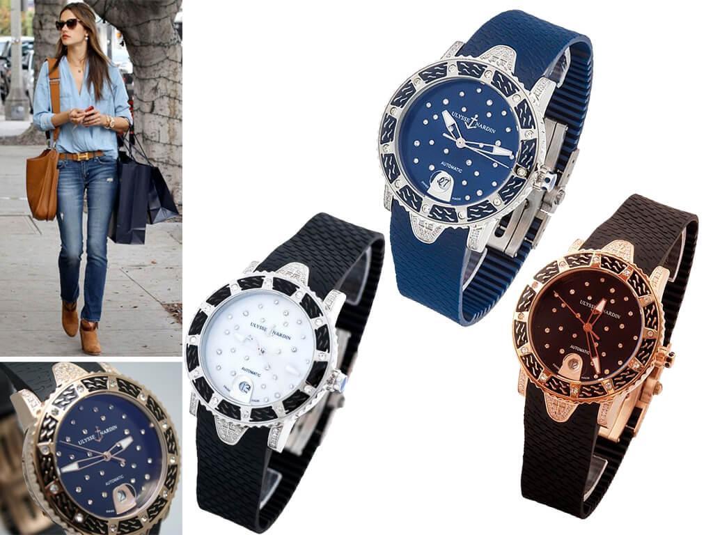 Женские часы Улисс Нардин Леди Дайвер Старри Найт из коллекции Дайвер