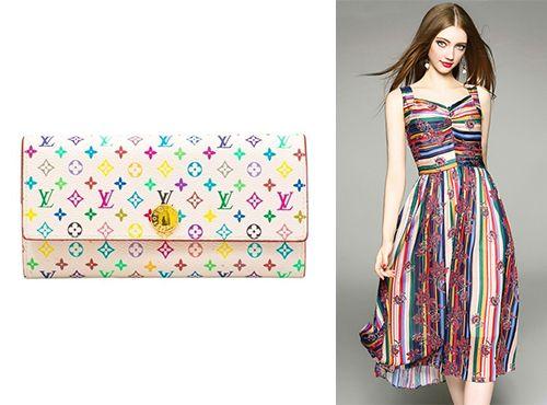 Кожаная клатч-сумка Louis Vuitton