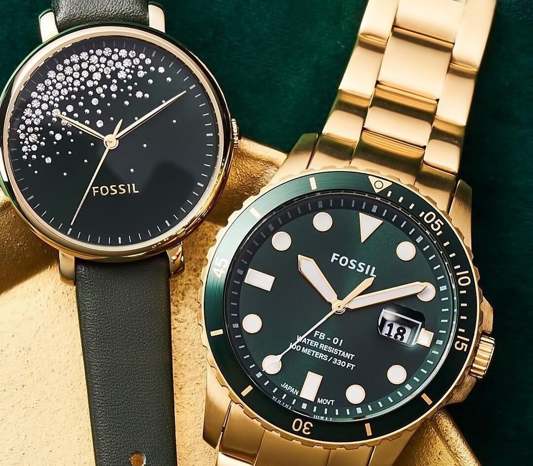 Мужские и женские часы Фоссил