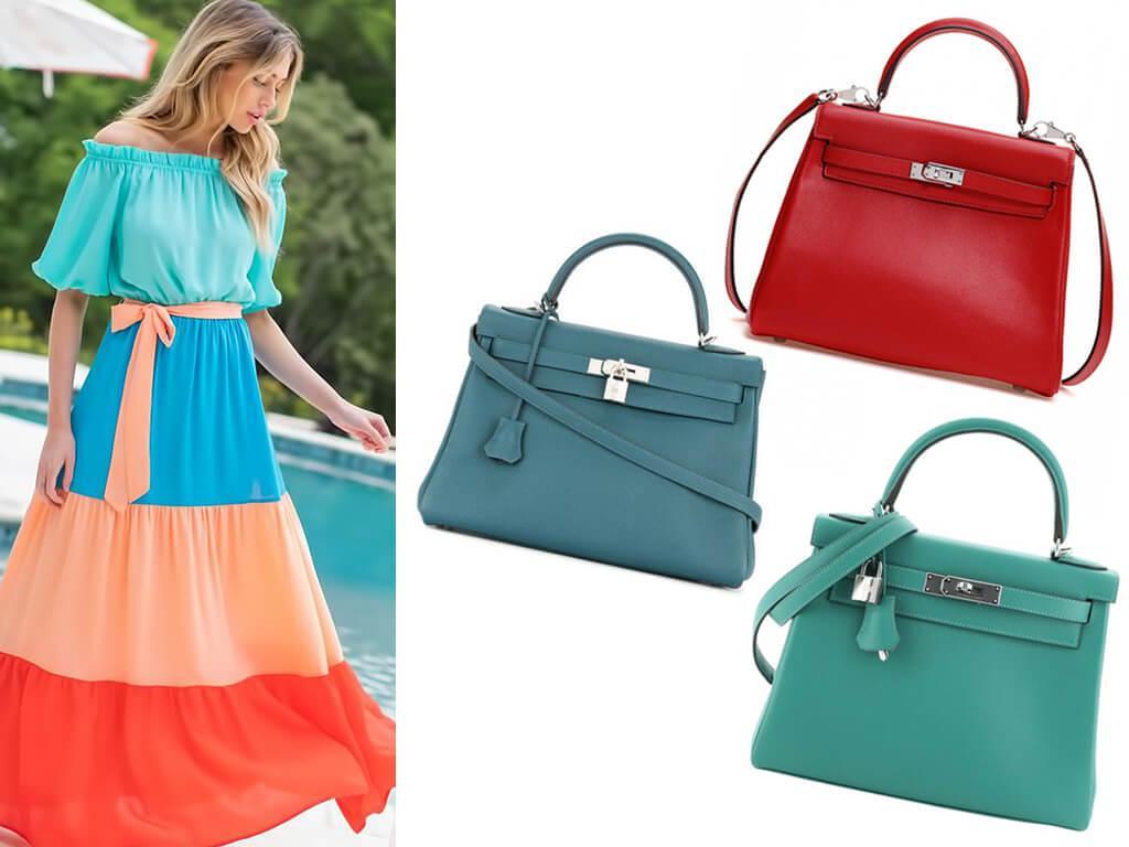 Кожаные сумки Келли