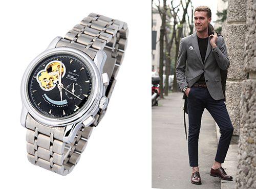 Мужские часы Zenith El Primero с индикатором запаса хода