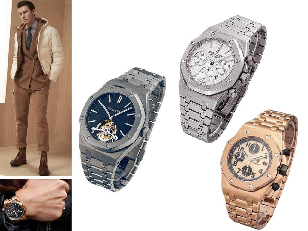Часы Адемар Пиге с браслетом