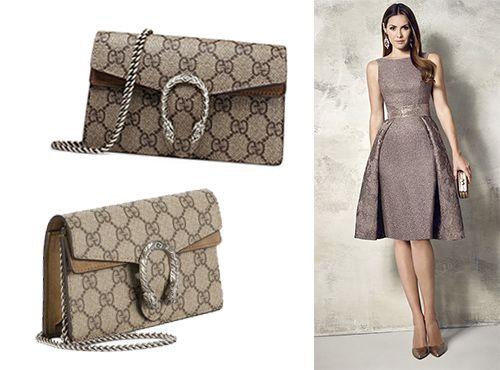 Вечерняя сумочка от Gucci GG Supreme