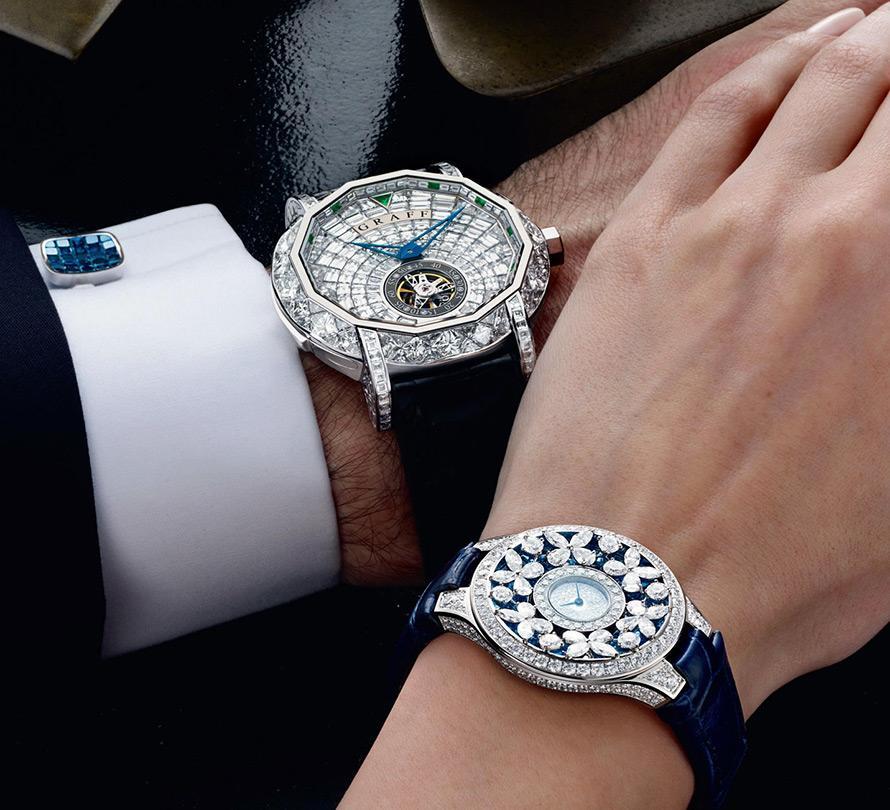 Мужские и женские часы Графф