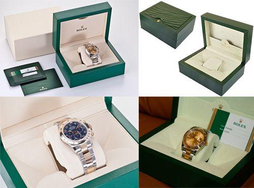 Брендовая коробка для часов Rolex