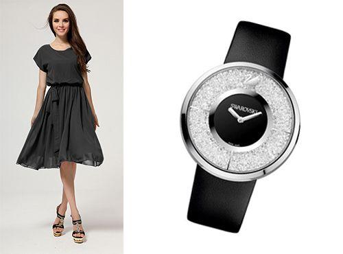 Сваровски часы женские