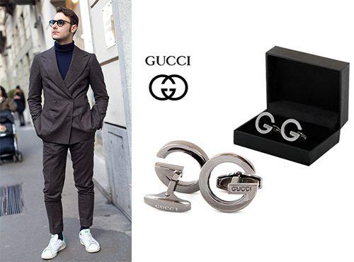 Запонки Gucci