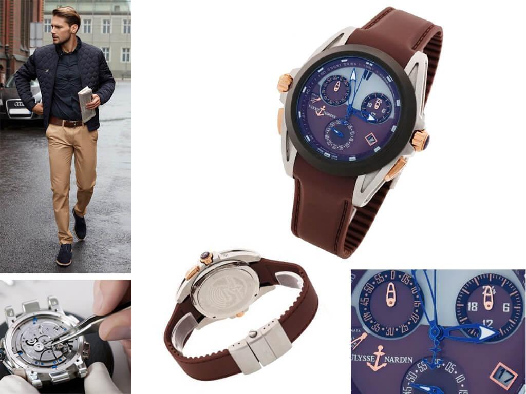 Наручные часы Ulysse Nardin Sonata Streamline Classic