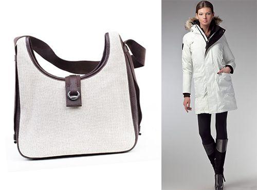 Женская сумка Hermes белого цвета
