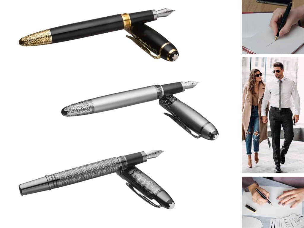 Брендовые ручки перьевые в стиле унисекс