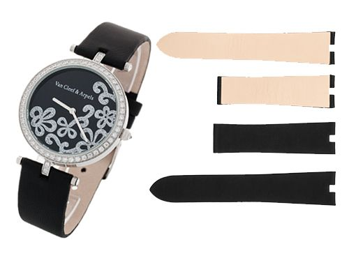 Текстильный ремень для часов Van Cleef