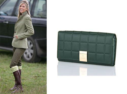 Кожаное портмоне женское Chanel