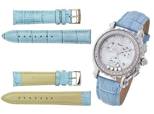 Ремень для часов Chopard голубого цвета