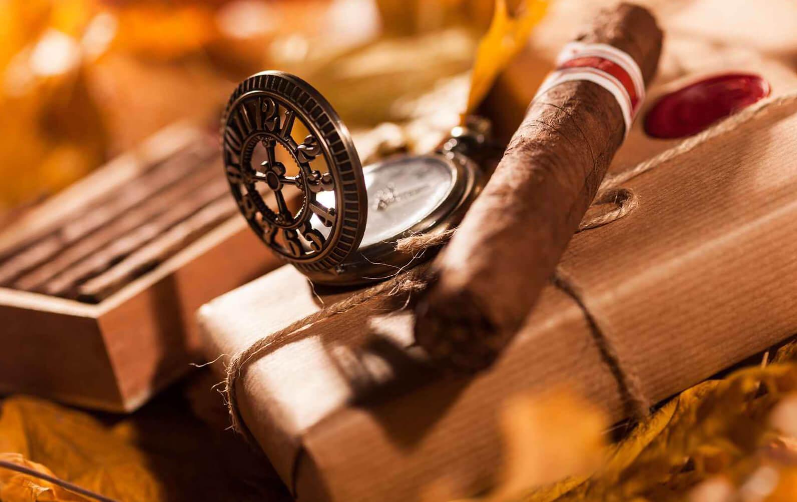 Сигара - атрибут солидного и успешного мужчины
