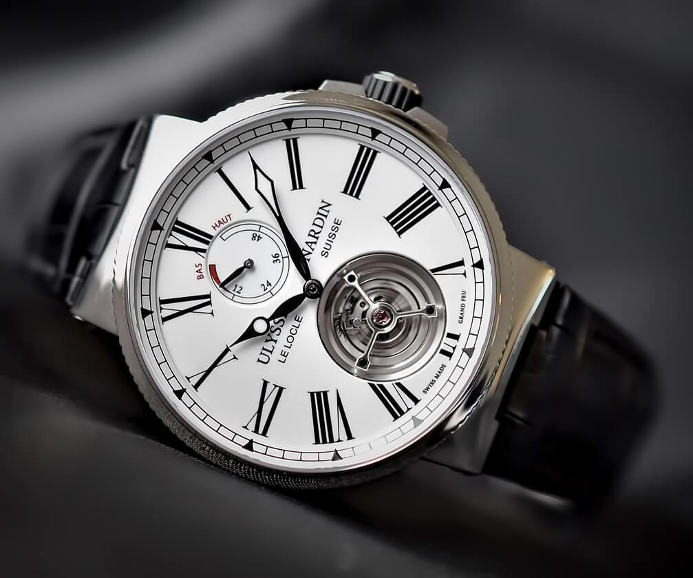 Мужские часы Ulysse Nardin Marine Tourbillon Grand Feu Enamel