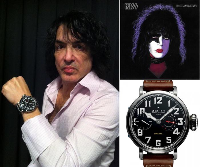 Зенит часы группы Kiss
