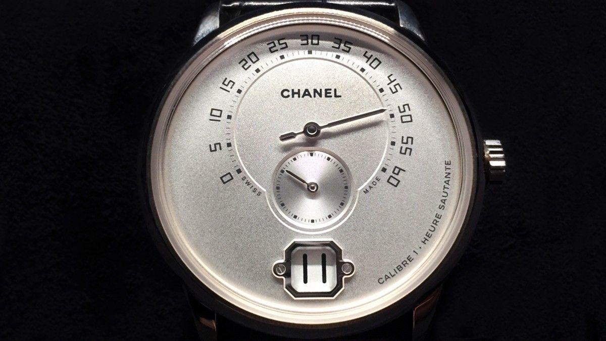 Мужские часы от Chanel