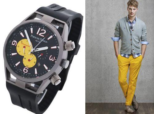 Мужские часы в титановом корпусе от Porsche Design